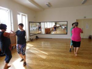 Cvičení Tai-chi na Dni zdraví Prahy 4